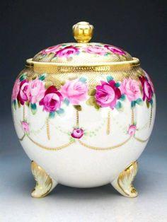 Old Noritake 1891 , Biscuit Jar
