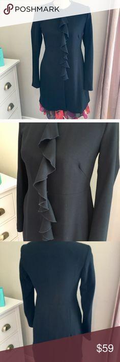c68e5e7bf4 Shop Women's Zara Blue size S Jackets & Coats at a discounted price at  Poshmark.