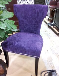 Cynthia Rowley Chair at Home Goods $129--I just bought this in a ...