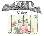 Chloe perfume illustrated by notes of scent
