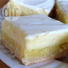 Cheesecake-citroengebak @ allrecipes.nl