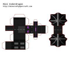 minecraft papercraft ender dragon - Google zoeken