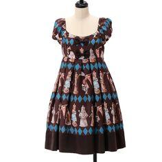 チェスアリスワンピース|ゴスロリ・ロリータファッション服の通販はワンダーウェルト
