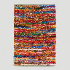 3x5 Multicolor Loop Chindi Rug | World Market