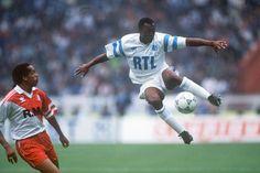 Abédi Ayew Pelé. Finale Coupe de France OM - Monaco 1991-1992