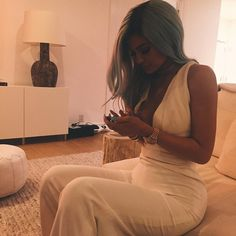 Kylie Jenner's Blue Hair Is Back!
