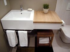 Photos of Stunning Bathroom Sinks, Countertops and Backsplashes | DIY