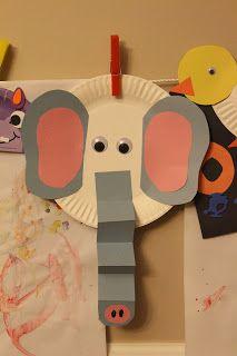 Elmer the Elephant Craft for friendship theme