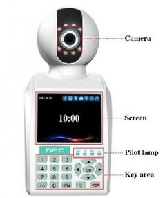 Intelligent Home Security Network Phone Camera is designed for home security. The NPC series introduces embedded LINUX operating system. Network Phone Camera can achieve remote monitor.