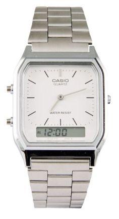 Silber Retro Dual Time Watch AQ 230A 7DMQYES von Casio TruffleShuffle,http://www.amazon.de/dp/B00BIRPIJM/ref=cm_sw_r_pi_dp_kTOytb0515XF0T8Y