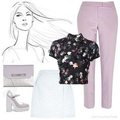 Lilac+|+Women's+Outfit+|+ASOS+Fashion+Finder