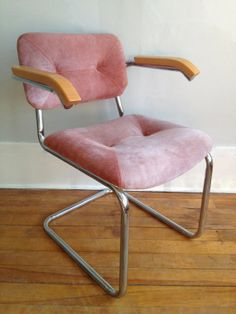 Valentine's Day Special Pink Suede Cesca Chairs set of by HejaHome, $295.00