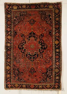 Sarouk Rug, West Persia, late 19th/early 20th century,  6 ft. 6 in. x 4 ft. 4 in.  | Skinner Auctioneers