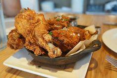 Fried Chicken at Yardbird Southern Table & Bar (Miami, FL). #UniqueEats #friedchicken