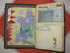Ideas for creating a travel journal