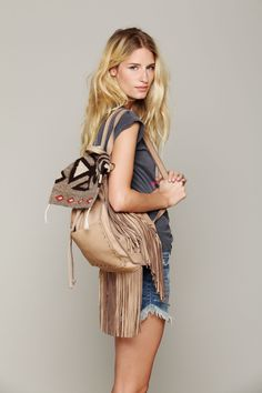 05291d72b1 Linda Vojtova - FreePeople Photoshoot 2013 Cool Backpacks