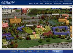 Villanova University Virtual Experience on Behance