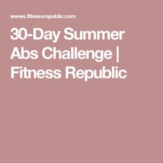 Take The Summer Abs Challenge! Flat Stomach Challenge, 30 Day Ab Challenge, Workout Challenge, 30 Day Fitness, Fitness Motivation, Health Fitness, Lower Ab Workouts, At Home Workouts, Belly Workouts