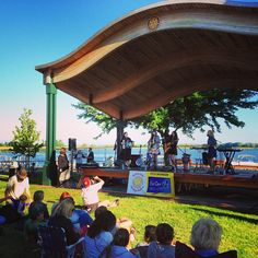 Really, really, REALLY enjoyed the music tonight at Mill Point Park in #springlake - they are called Academy 4 and they are awesome! Look 'em up :) #visitgrandhaven
