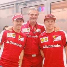 Great team! Great team spirit! Great drivers! Great team bosses! This Is Scuderia Ferrari! #ForzaFerrari