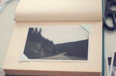 diy // vintage book turned into photo album Vintage Photo Album, Vintage Photos, Diy Vintage Books, Make A Photo Album, Wooden Photo Box, Picture Storage, Photo Wall Decor, Photo Album Scrapbooking, Album Book