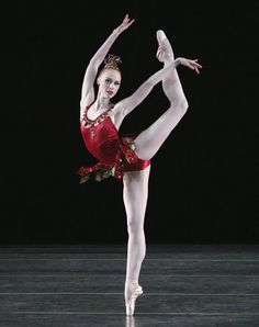 Teresa Reichlen, Rubies from Jewels, New York City Ballet. ✯ Ballet beautie, sur les pointes ! ✯
