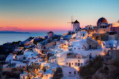 Yunanistan'ın Turistik Adası; Santorini