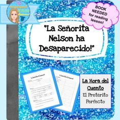 "Spanish present perfect tense, el pretrito perfecto, el presente perfecto, regular verbs, Spanish reading, Spanish story hour, Spanish grammar study, Spanish reading comprehension, la hora del cuentoSpanish Present Perfect Reading Guide: La Seorita Nelson Ha Desaparecido!La hora del cuento*AT LEAST ONE COPY OF THE BOOK IS NEEDED*This set of worksheets is designed to support the review / comprehension of the present perfect tense while reading the book ""La Seorita Nelson Ha Desaparecido!"" My…"