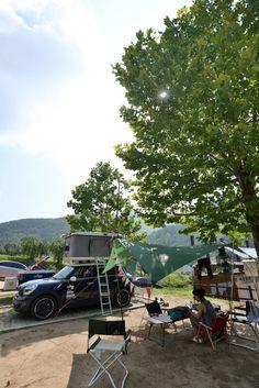여름휴가 계곡트레킹 8월12일 3일차 [오포썸][제임스 바로드][디들100][미니캠핑트레일러][루프탑텐트] : 네이버 블로그  #camping #jordycamping