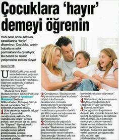 mutlu anne babalar mutlu çocuklar: Çocuğunuza HAYIR Demeyi Öğrenin!
