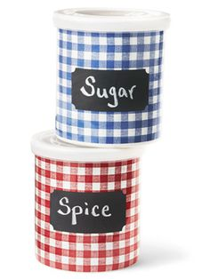 How easy and cute would these be to make? I'm seeing different contact-paper and labels for garden twine, too!