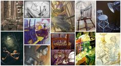 Concentration Section - the 12 pieces that make up your concentration/series  AP Art