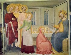 Category:Rinuccini Chapel (Basilica of Santa Croce) Mary Magdalene, 14th Century, Marie, Santa, Wikimedia Commons, Artwork, Zacchaeus, Painting, Aprons