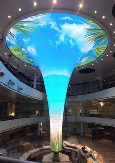 First inside look at Carnival Cruise Line's newest and biggest #cruise ship, Carnival Vista.
