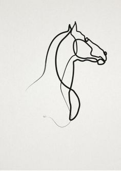 online Horse 0301 by Christophe Louis Quibe
