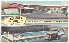 "Las Vegas Nevada Holiday Inn ""On the Strip"""