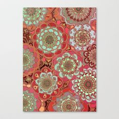 Baroque Obsession Stretched Canvas by Micklyn - $85.00