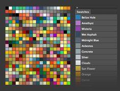 Photoshop Swatches Library for Flat UI Design by lakmus.deviantart.com on @deviantART