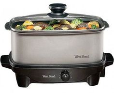 Another great small slow cooker , West Bend 84905 5-quart Oblong Slow Cooker