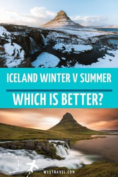 10 Reasons Why an Iceland Winter Trip is Better than Summer Best Winter Destinations, Family Vacation Destinations, Vacation Ideas, European Destination, European Travel, Iceland With Kids, Iceland Travel Tips, Ski Vacation, Ice Caves