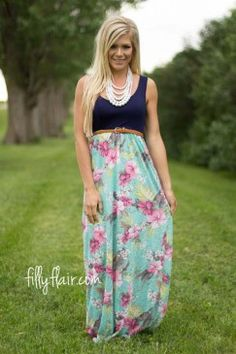 Hope Floats Floral Maxi