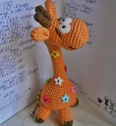 Ищите схему вязания жирафа амигуруми? Милости просим в наш блог :)