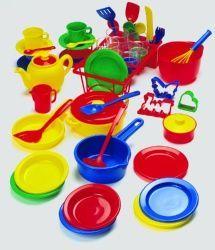 Set cocina ideal para que niños jueguen a las cocinitas. Sartenes, ollas, tazas, platos.. #Niños #Juego #JuegoSimbolico http://www.multididacticos.com