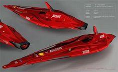 Ferrari X-Racer Concept, hovercars, Aircraft, Flying Car