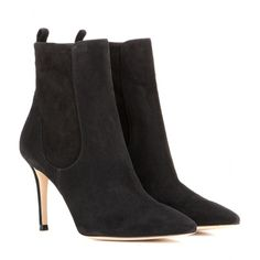 Gianvito Rossi - Bennett suede ankle boots - mytheresa.com