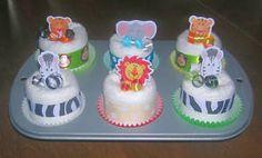 diaper cupcake