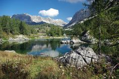 Triglav Lake Valley is the alpine valley between Bohinj and Trenta with lakes. It's about 8 km long. We also call it Valley of 7 lakes (although there are more than 7 small lakes) #TriglavNationalPark #Triglav #JulianAlps #TriglavPark #ParkTriglav #LjubljanaToTriglav #ThingsToDo #BeautifulDestinations #Slovenia #LakeValley #ValleyOfSevenLakes