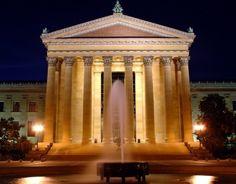 Philadelphia Art Museum - Philadelphia, Pennsylvania.