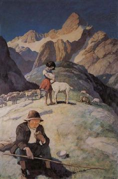 N.C. Wyeth Paintings | Here are some other NC Wyeth's oil paintings.