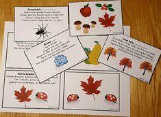 Höstsånger för barn Fall Crafts, Biology, Playing Cards, Teaching, Activities, Cool Stuff, Kids, Speech Language Therapy, Experiments Kids